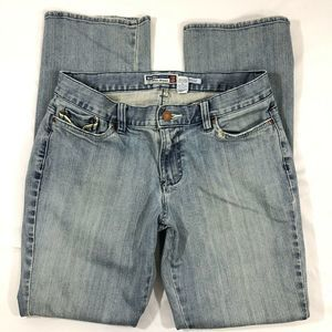 Old Navy Jeans Ultra Low Straight Leg Stretch